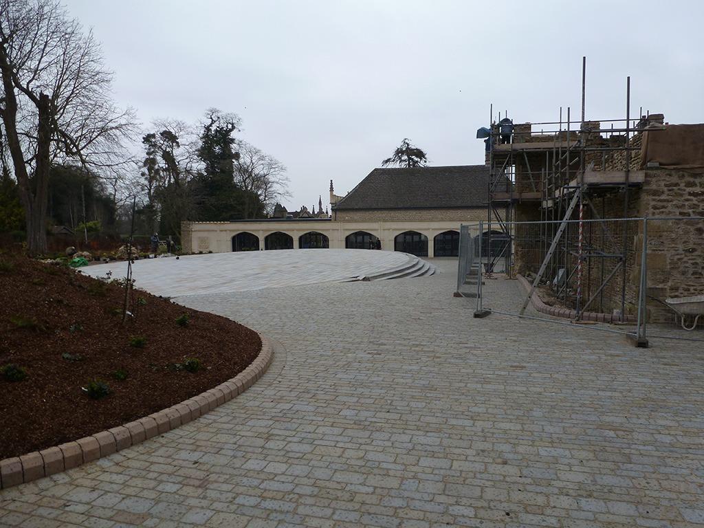 An elite training base for the premier league rugby squad for Landscape architects bath
