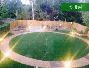 garden lighting, gardens and outdoor spaces, Southampton, Hampshire, Aura Landscapes