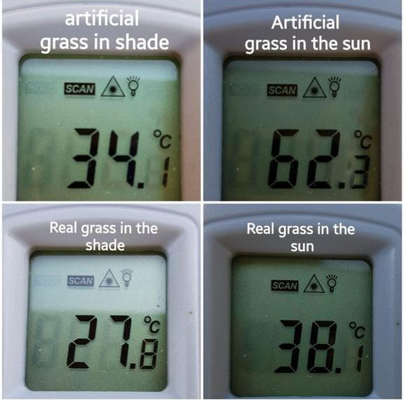 artificial-grass-in-the-summer