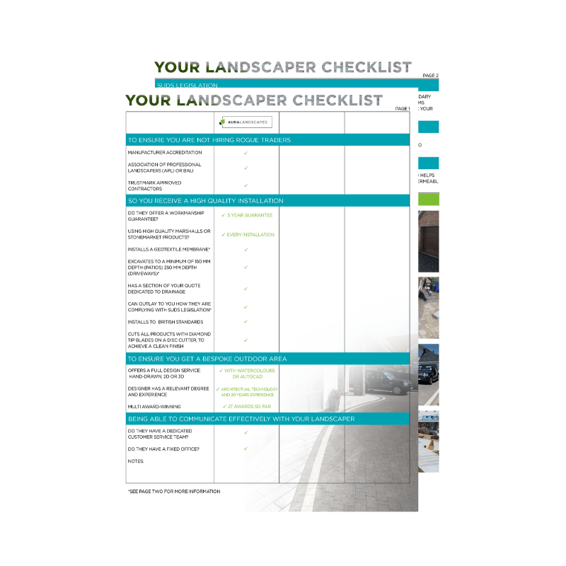 the-landscapers-checklist